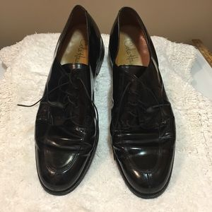 Cole Haan men's wing tip oxford loafers size 12D